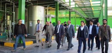 Visit of the member of parliament Yahya AlEthawi, Member of the Committee of Economy and Investment in the Iraqi Parliament to Etihad Food Industries Co. Ltd.